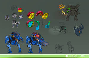 Bohrok Design dump (swarm part 2)