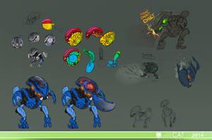Bohrok Design dump (swarm part 2)