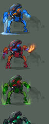The Bohrok swarm (swarm part 3) by Just-Rube