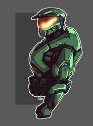 Combat Evolved by Just-Rube
