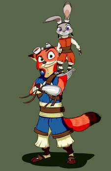 Zootopia (Jak and Daxter crossover)