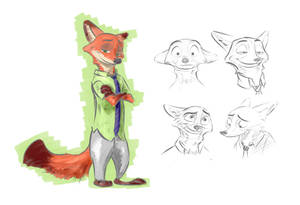 Nick Sketches