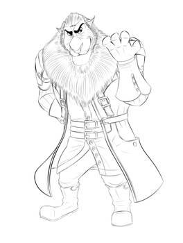 Lionheart as Xehanort (Kingdom Hearts Crossover)