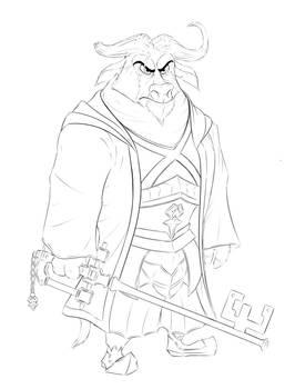 Bogo as Master Eraqus (Kingdom Hearts Crossover)