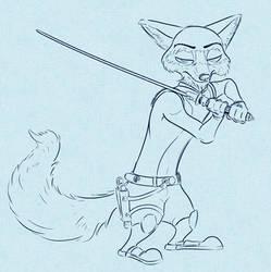 Nick as Kanan