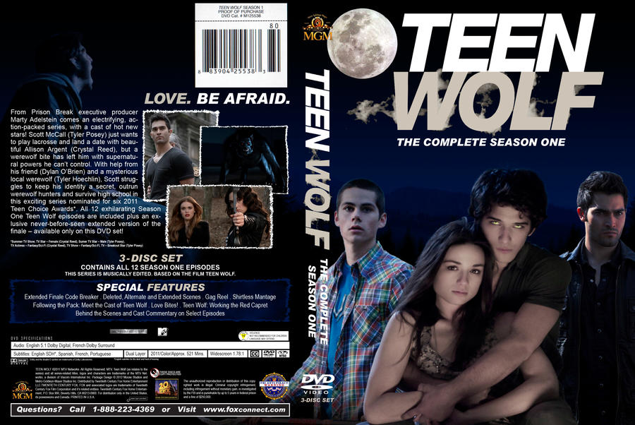 Teen wolf season 1 cover by kaser on deviantart teen wolf season 1 cover by kaser m4hsunfo