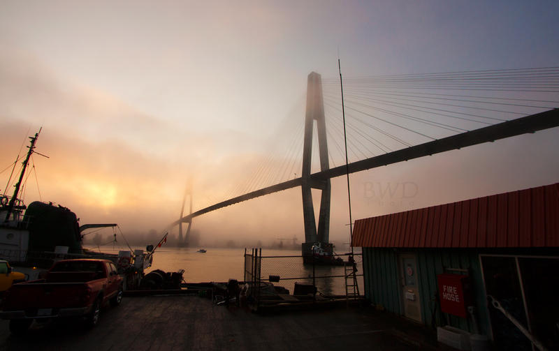 New Westminster Fog V by bcdirector