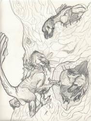 Raptor Nest Sketch