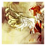 the Angel by vectoriotics