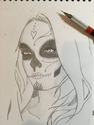 El Dia de los muertos (work in progress) by ViewtifulMAD