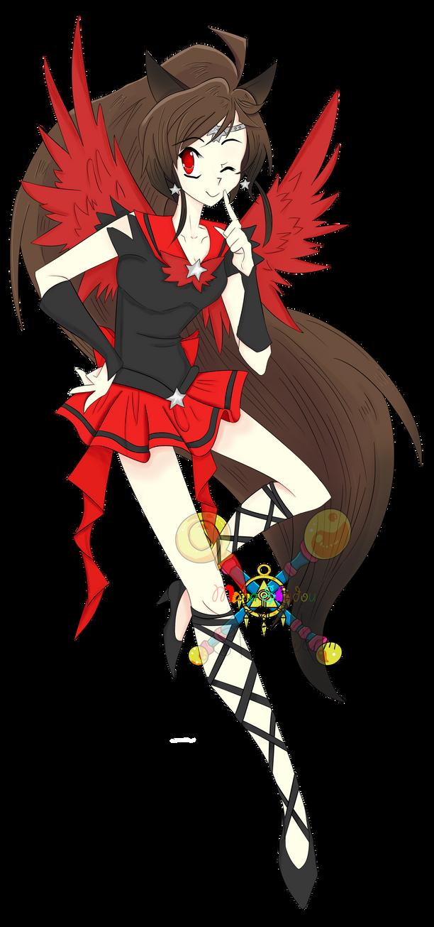 Sailor Pheonix (coloring) by ManaShadow369