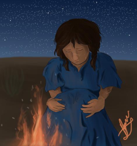 Sweet Desert Child by byrch
