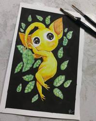 Yellow Pikmin by KylaR-lapidotshipper