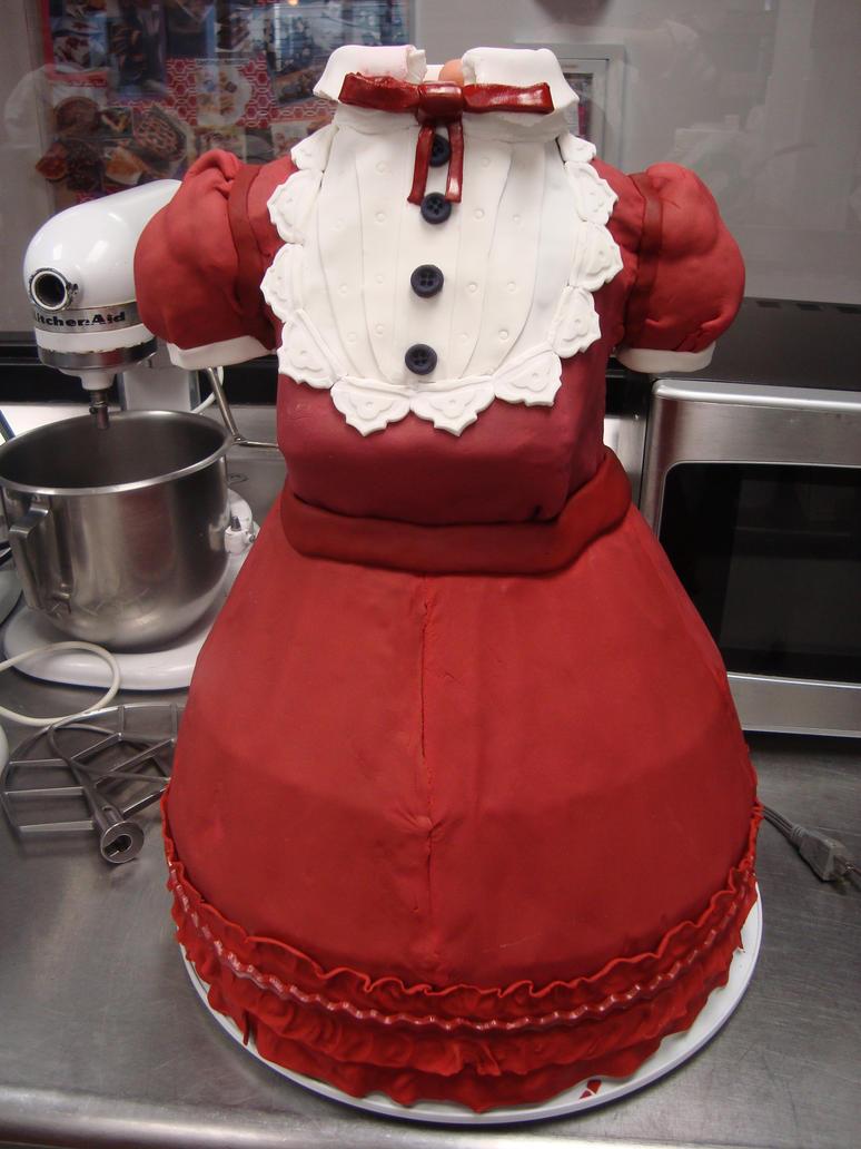 Mary Magdalene Lolita Display/Wedding Cake by rinkun