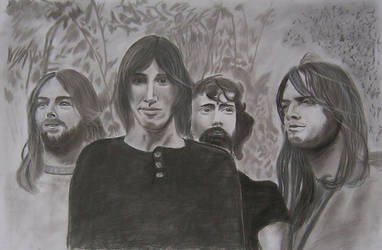Pink Floyd by Withonel
