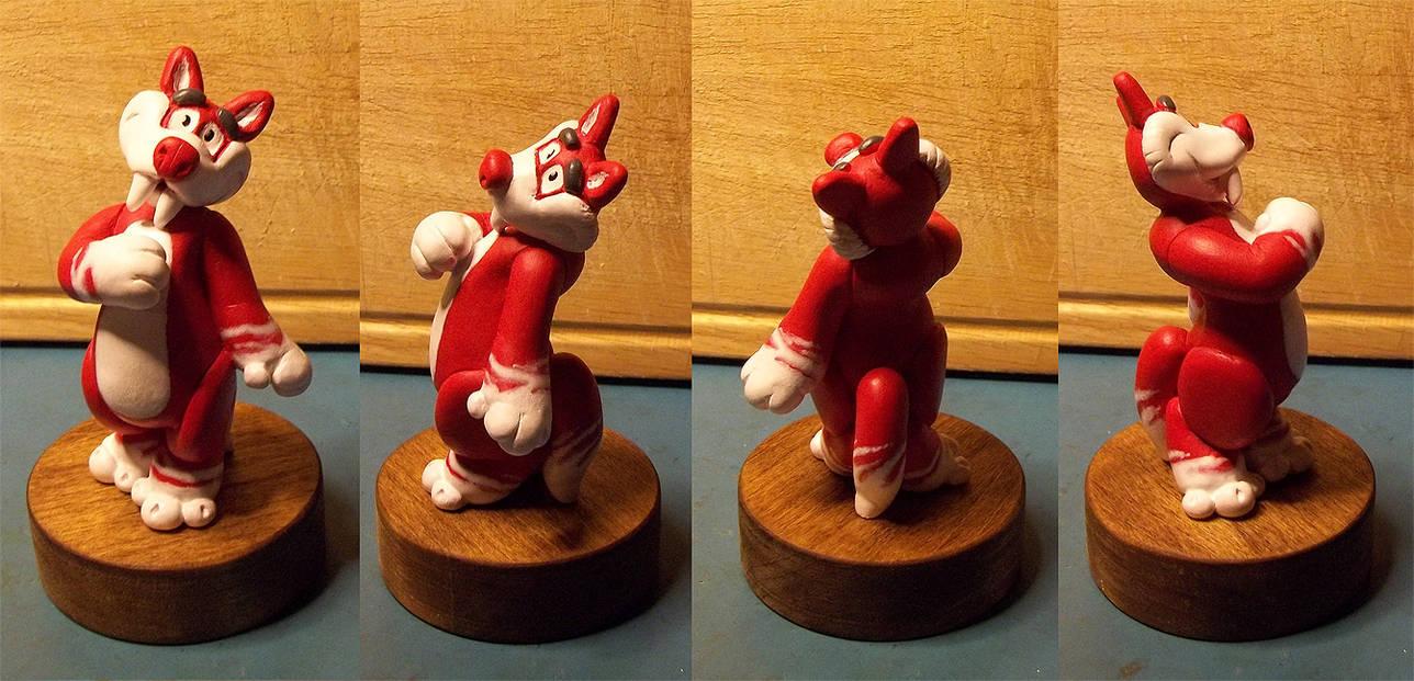 Button Figurine
