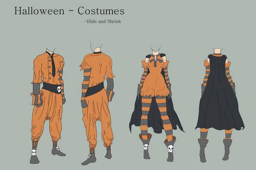 Hide and Shriek - Costume
