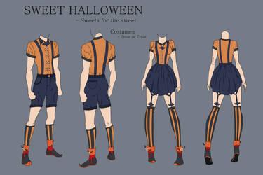 Sweet Halloween - Treat or treat costumes