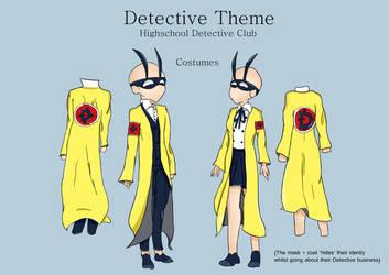 Highschool Detective Club - Costumes