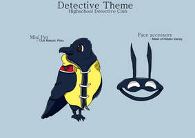 Highschool Detective Club - Mini Pet and Mask