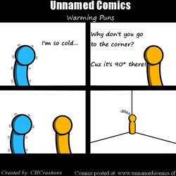 Unnamed Comics Week 2: Warming Puns
