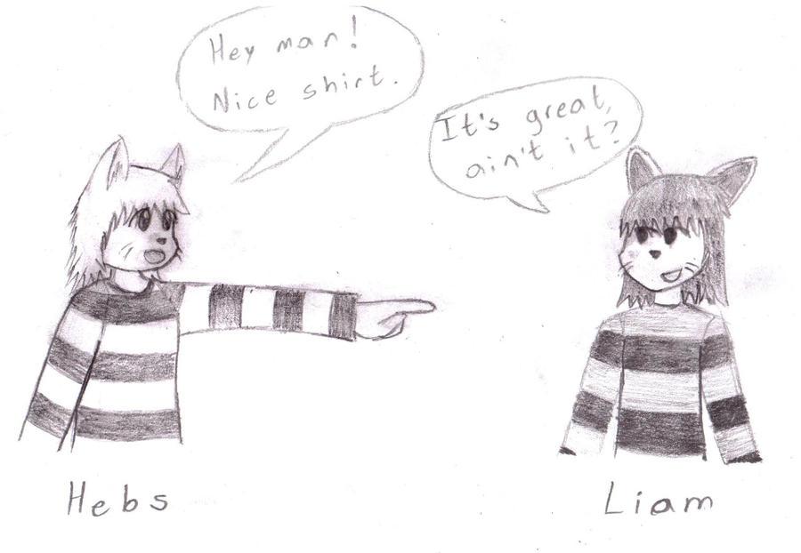 Hebs meets Liam by hebi37