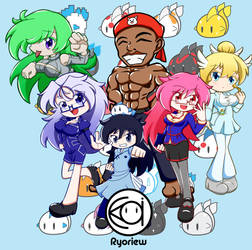 All OC by Gentic