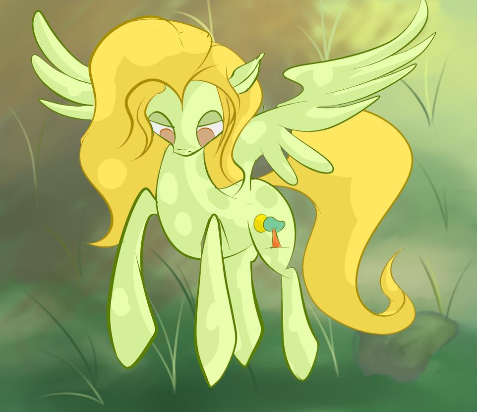 Random Pegasus OC by Lyricjam