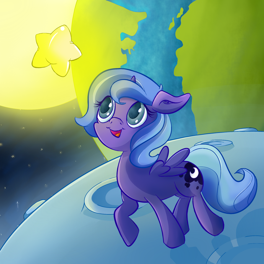 Filly Woona: Chasing the Stars by Lyricjam