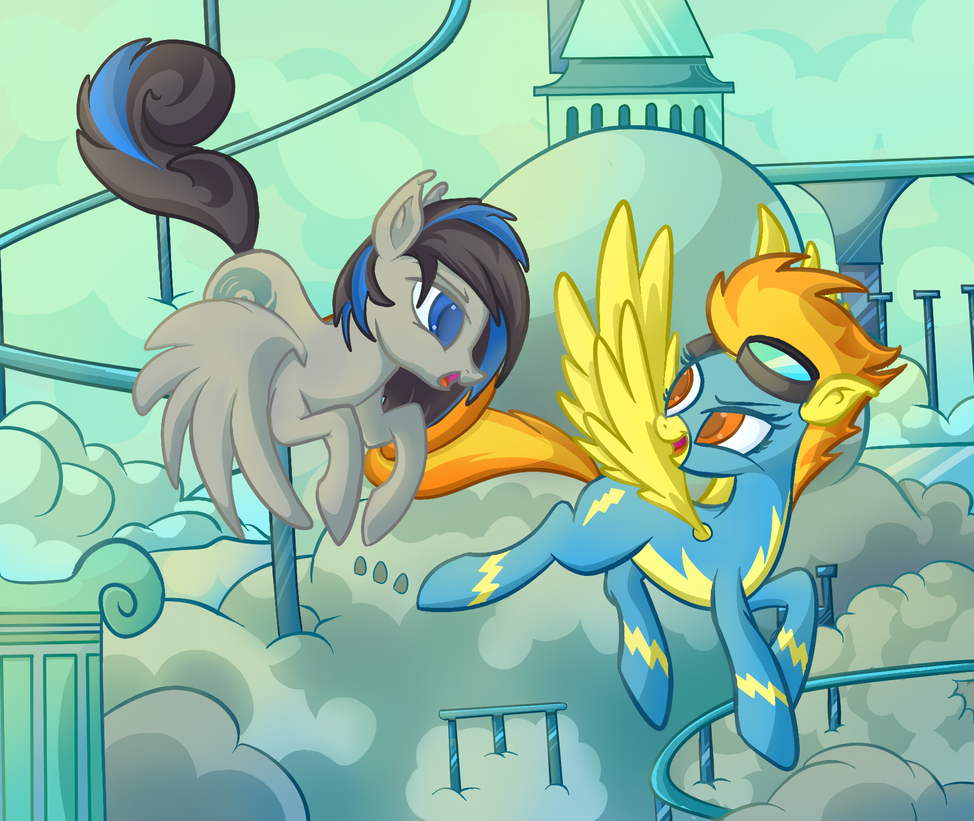 Commission: Meeting Spitfire by Lyricjam