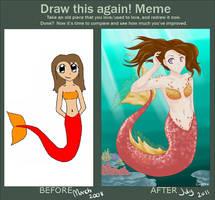 Draw this again meme by Ruehara