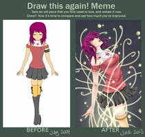 Draw this again meme 2 by Ruehara