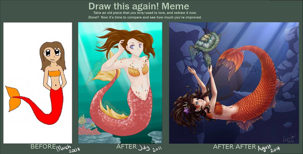 Draw this again meme 2014 by Ruehara