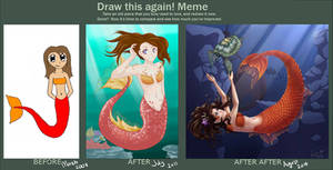 Draw this again meme 2014 by Ruehara