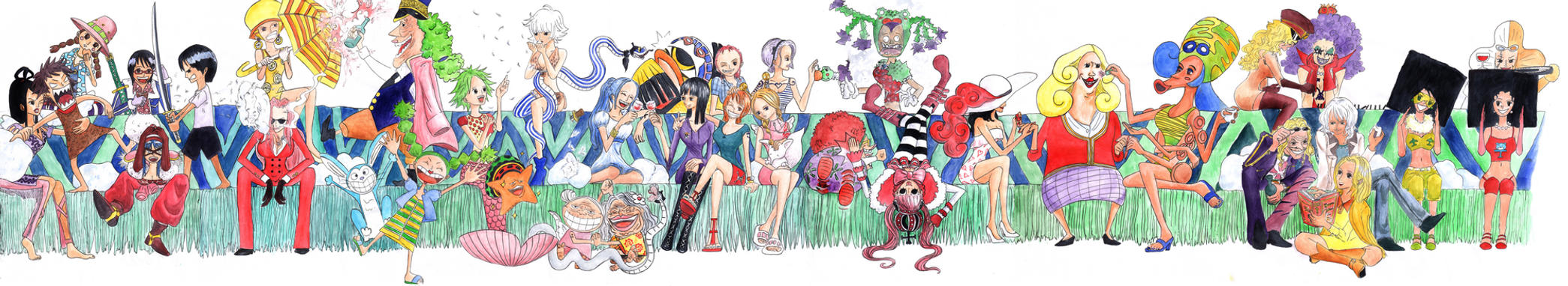 One Piece girls by orange90
