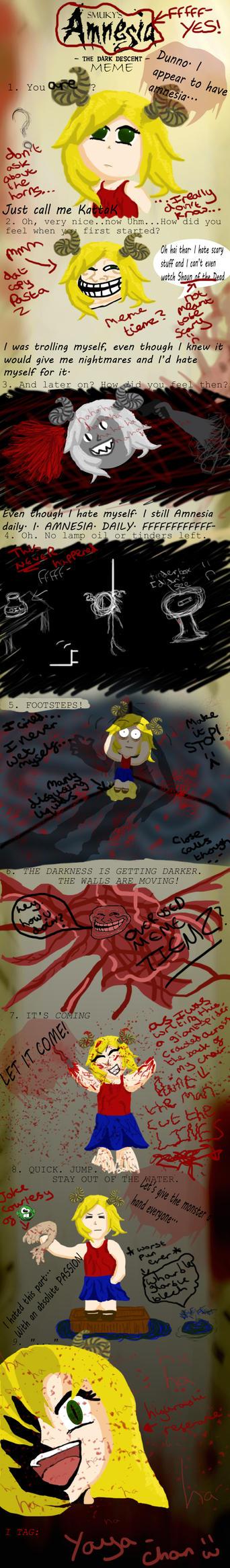 Amnesia: The Dark Descent-Meme by 5tarfishLawlietLover