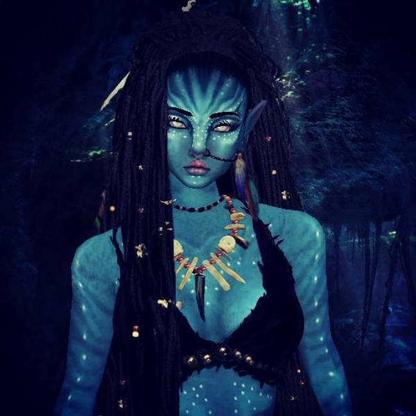 Navi Avatar: Na'vi Witch Ziira By Kaguraroxmysox