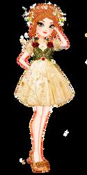 Maebh daughter of the Enchantress by kaguraroxmysox