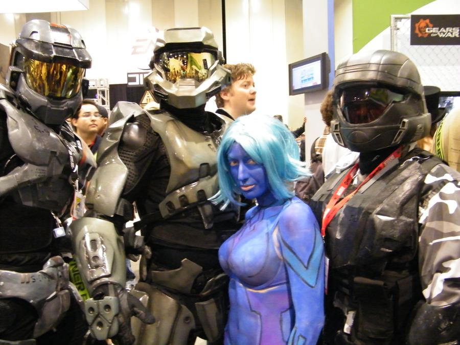 halo 3 costumes by solo knight6 - Halo Reach Halloween Costume