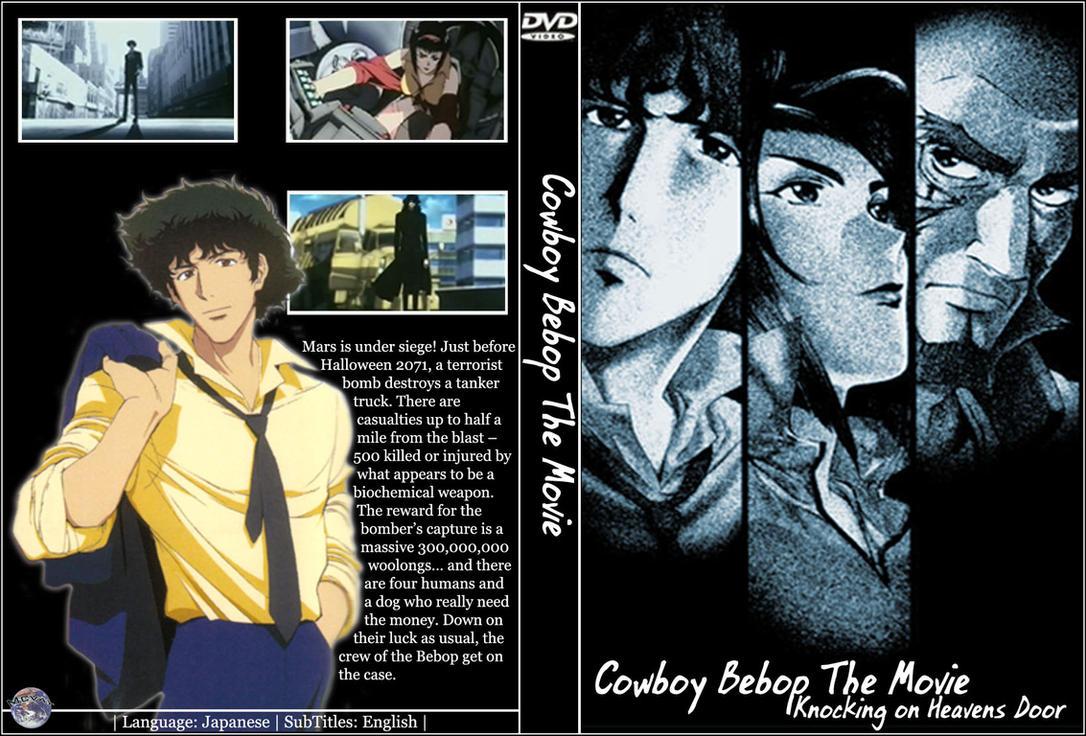 cowboy bebop movie dvd cover by mcvay1 on deviantart