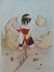 Master Toph by gamma-rayz