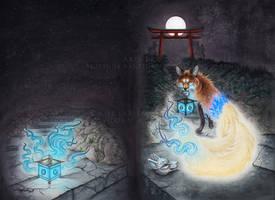 Kitsune Matsuri - The Open Gateway by LucidKitsune