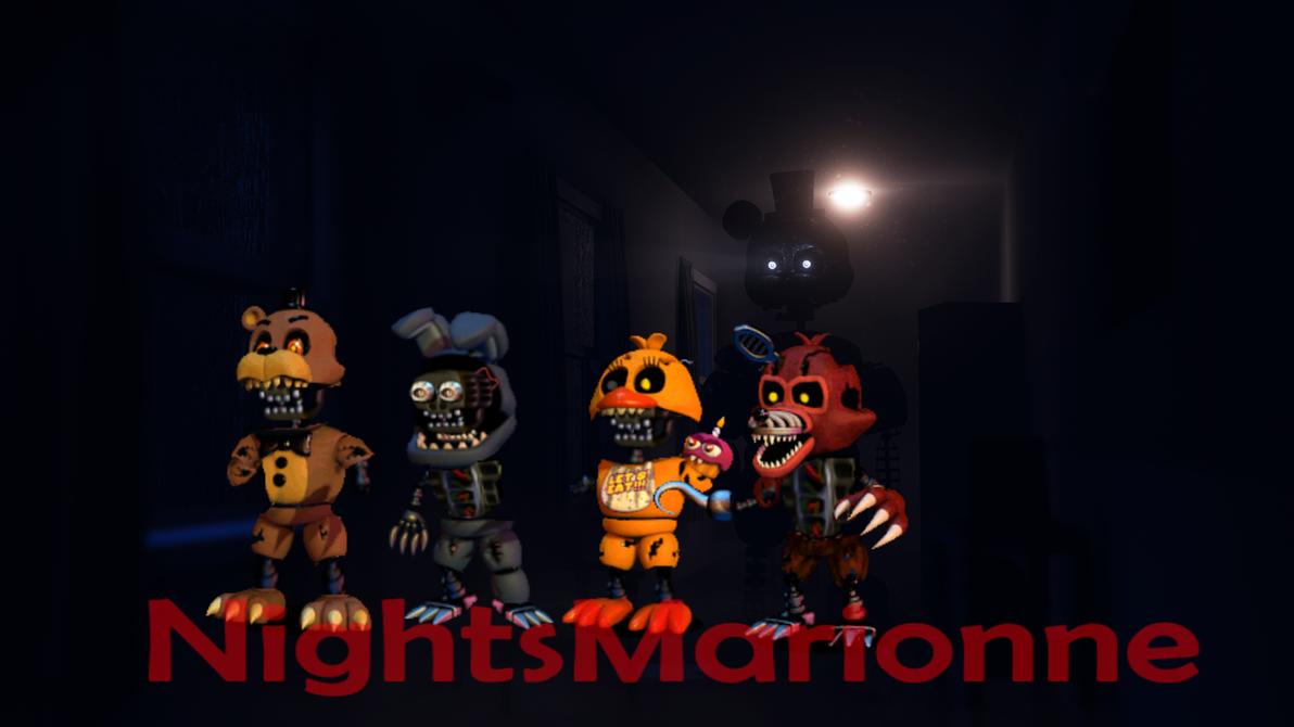 Nightmare Animatronics Wallpaper – Fondos de Pantalla