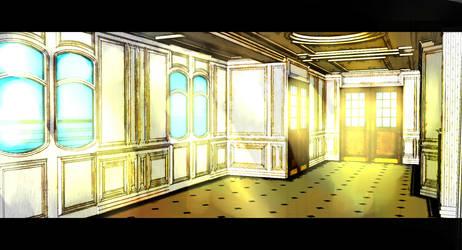 hallway by SeregaGart