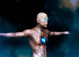 magic stone in his chest by SeregaGart