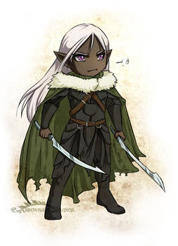 Drizzt Sticker