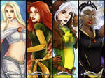 X-Women Bookmarks