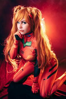 Asuka Langley Soryu cosplay