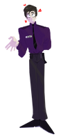 Dave Miller/William Afton by Tigerheartthedeputy