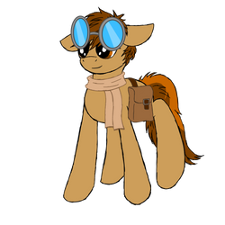 Smol Racer Pone by Knights--of--Ren